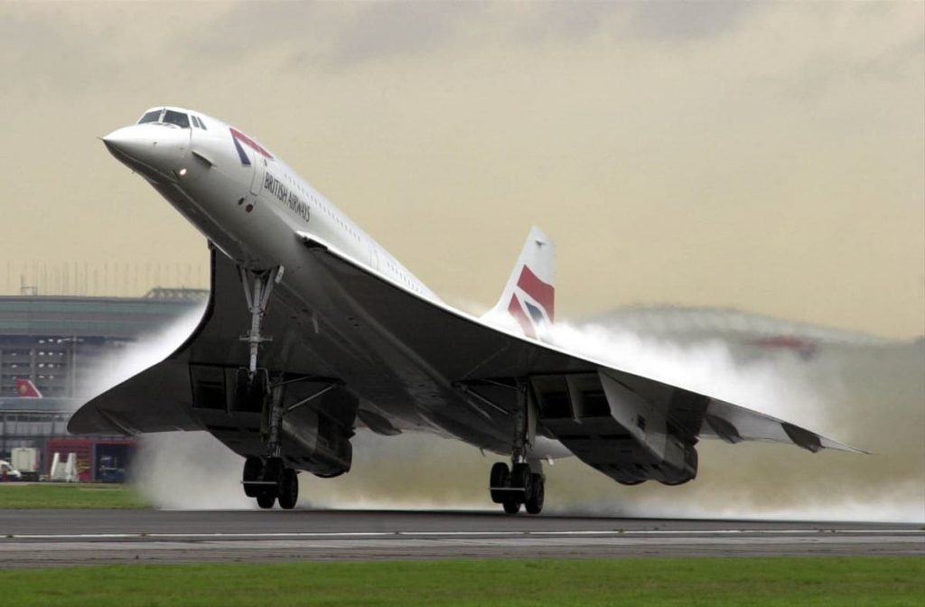 Concorde was painted with highly-reflective white paint.