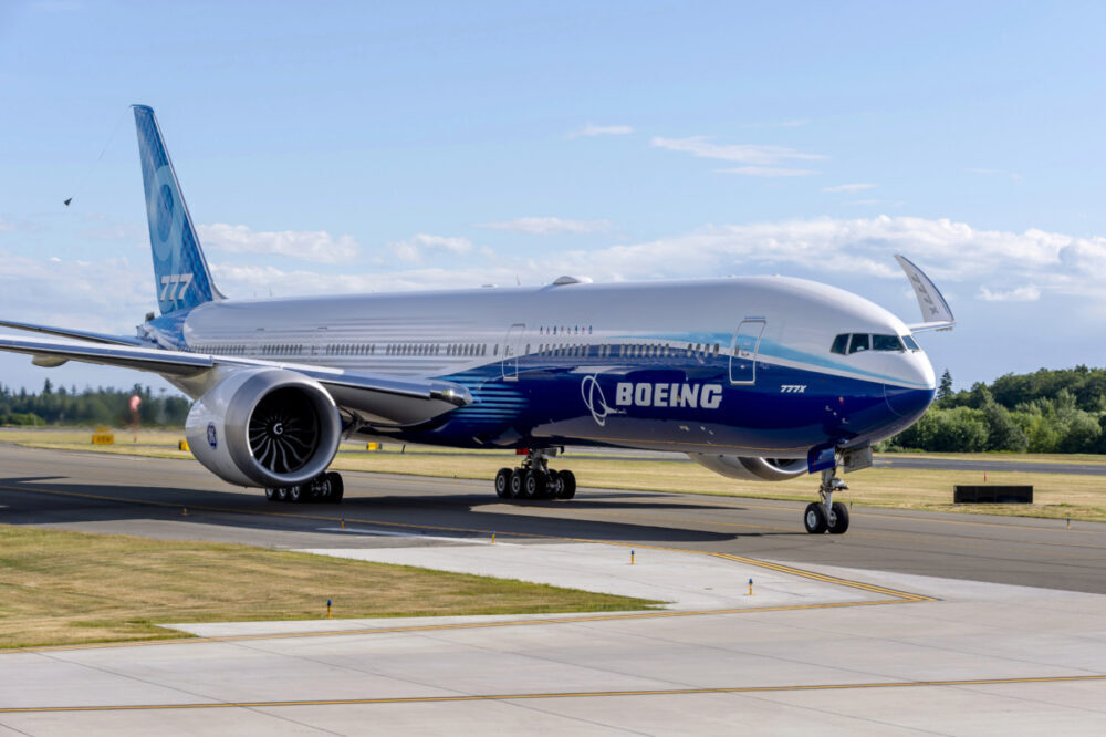 One of the four Boeing 777Xs participating in the testing program completed a near ten-hour flight yesterday