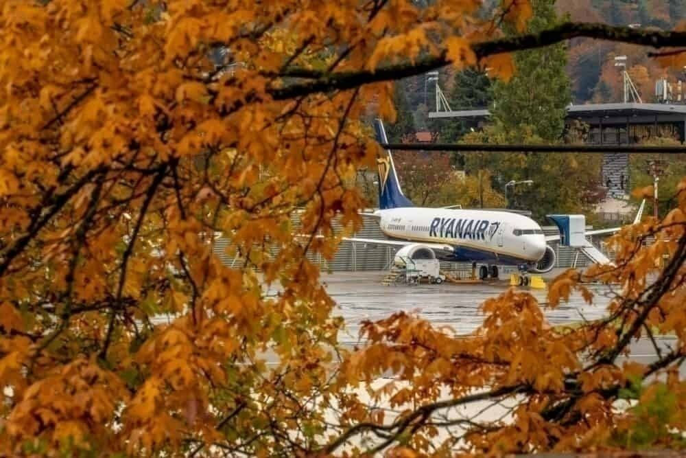 Ryanair was expecting its first Boeing 737 MAX