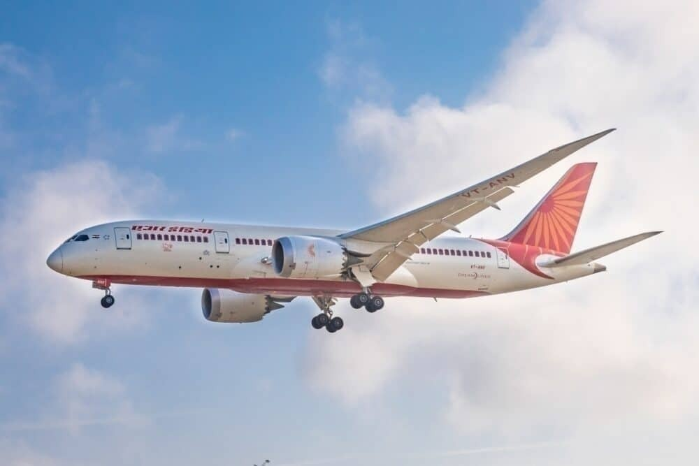 Air India only flies 3-4 flights to Germany a week, compared to Lufthansa's 20