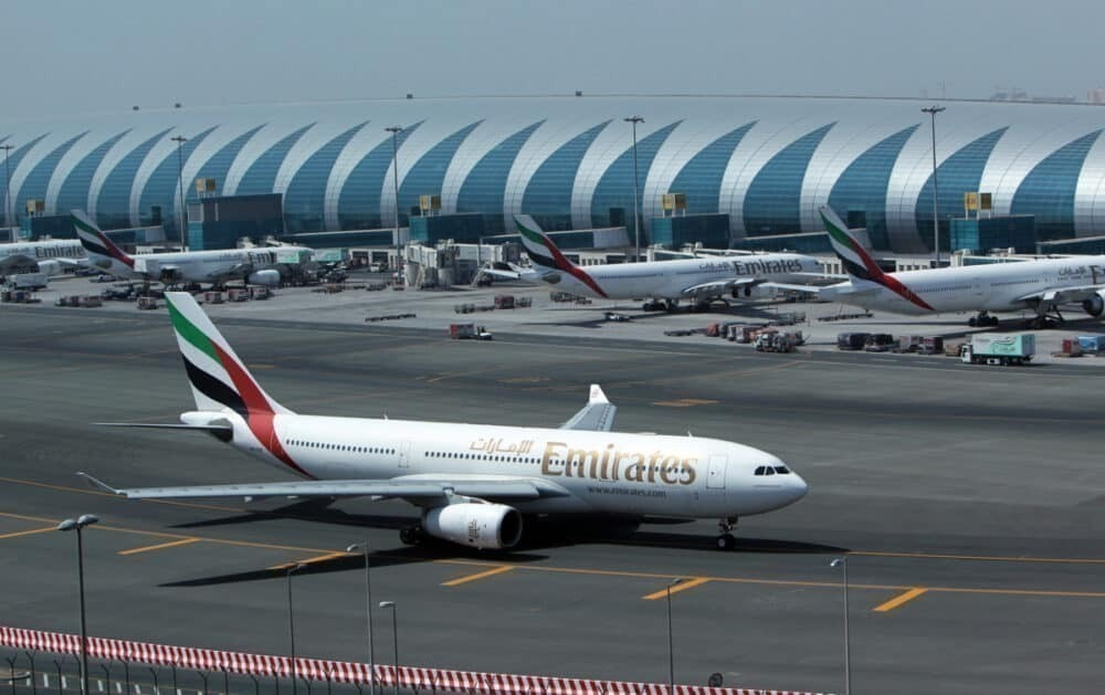 Emirates is almost back to 100 destinations.