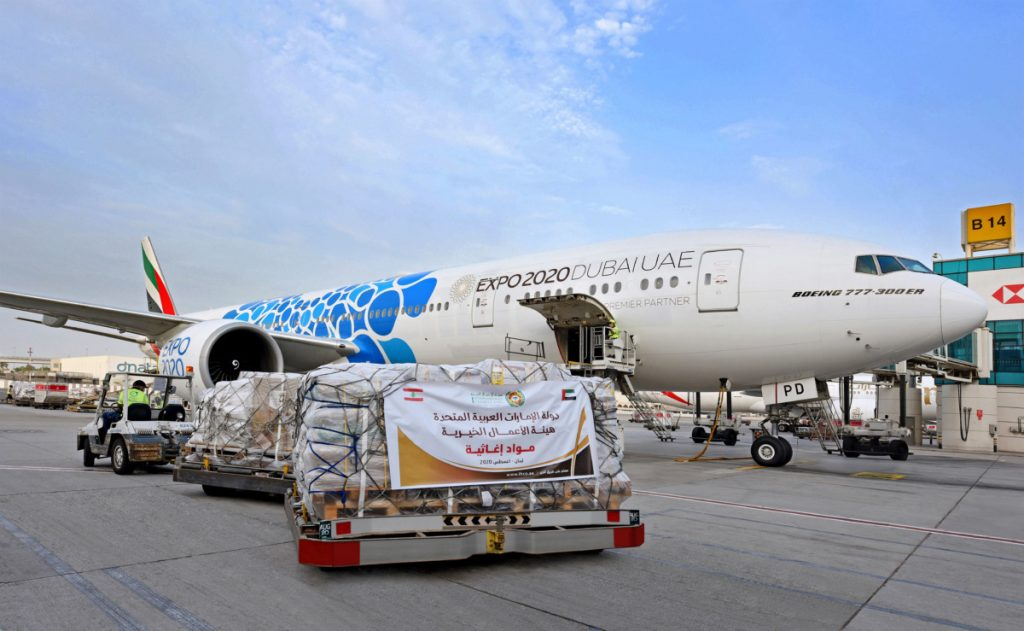 Emirates received over 12,000 donations from around the world, including 120 million air miles from Skyward members