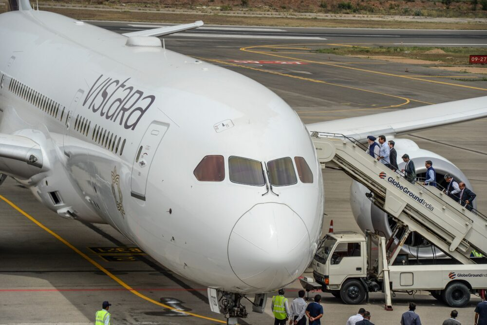 A future incarnation of Air India could be under the operations of Vistara. Photo: Getty Images